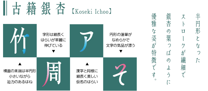 古籍銀杏 Koseki Ichoo