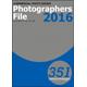 PHOTOGRAPHERS FILE 2016