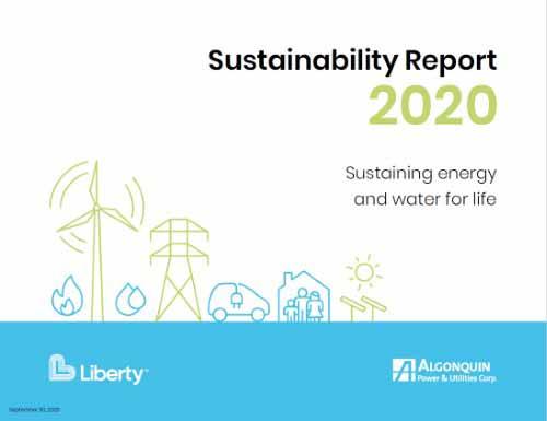 「2020 Global 100」10位:Algonquin Power & Utilities Corp(アルゴンキン・パワー)の画像