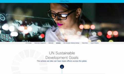 「2020 Global 100」4位:Cisco Systems Inc(シスコシステムズ)の画像