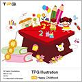 TPG Illustration 036 Happy Childhood