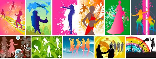 TPG Illustration 014 Vector Illustrations -2 Silhouette (A)