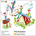 TPG Illustration 024 Happy Studying