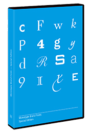 Monotype Brand Fonts Special Edition
