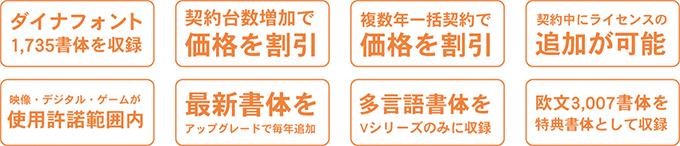 DynaSmart Vシリーズの特徴