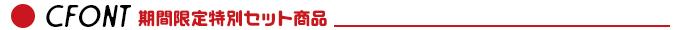 CFONT 日本語10書体フル収録特別セット