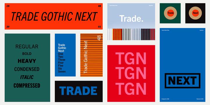 Trade Gothic™ Next