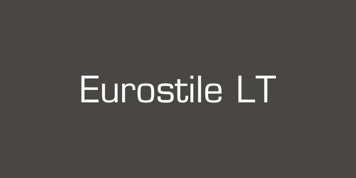 Eurostile® LT