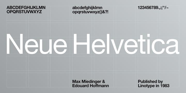 Neue Helvetica®