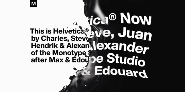 Helvetica® Now