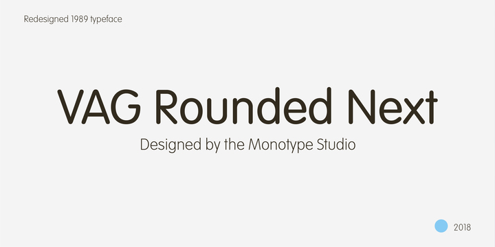 VAG Rounded™ Next
