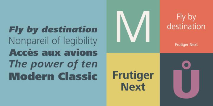 Frutiger® Next