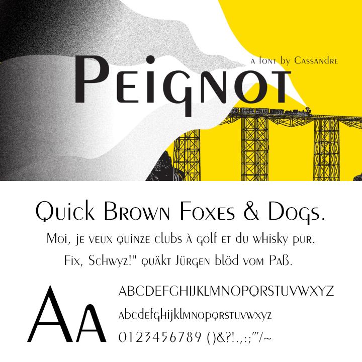 Peignot®