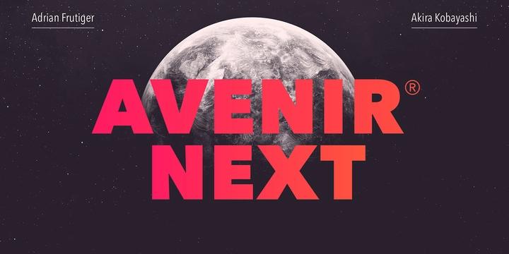 Avenir® Next
