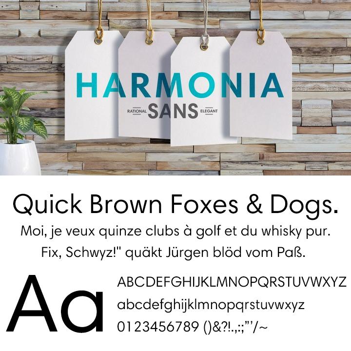 Harmonia Sans™