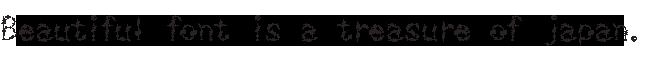 組み込みOK fontUcom ゲームで使える87書体セット AFSMachine09