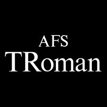組み込みOK fontUcom ゲームで使える87書体セット AFSTRoman