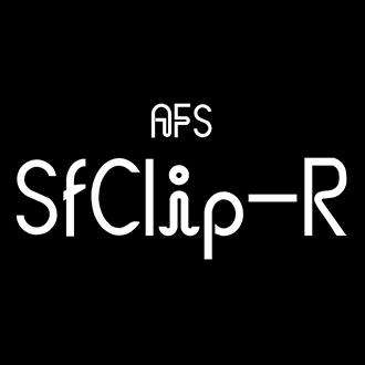 組み込みOK fontUcom ゲームで使える87書体セット AFS-SfClip-R