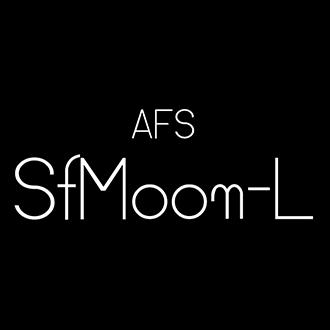 組み込みOK fontUcom ゲームで使える87書体セット AFS-SfMoon-L