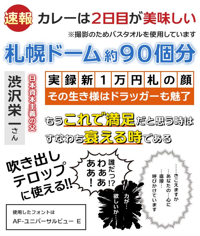 テロップ・サムネ・ふきだし日本語8書体セット(欧文2書体付き) AF-ユニバーサルビューE サンプル