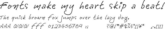 Tully Medium 欧文フォント