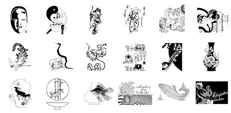 ベクトル図案シリーズ 日本の伝統デザイン