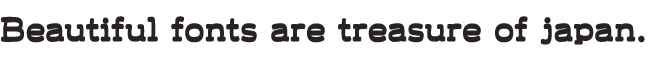 組み込みOK fontUcom ゲームで使える87書体セットII AF-LogoWaf+3