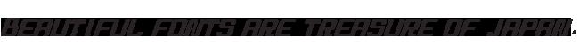 組み込みOK fontUcom ゲームで使える87書体セットII AF-STOCKCAR-5BR