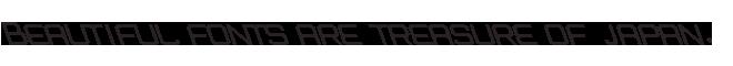 組み込みOK fontUcom ゲームで使える87書体セットII AF-STOCKCAR-6L