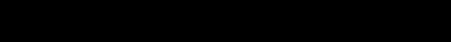 「冷やし中華はじめました」のフレーズに合うフォント 筆技名人フォント 春雲体 第一水準漢字版